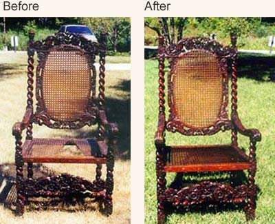Antique Chair Restoration; Antique Chair Repair ...