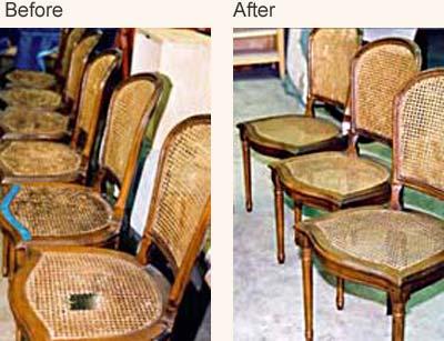 ... Furniture Restoration; Chair Repair