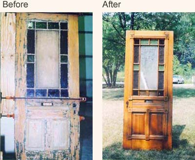 Before After Client Furniture Repair Restoration Stories From & Collection Wooden Door Restoration Pictures - Losro.com